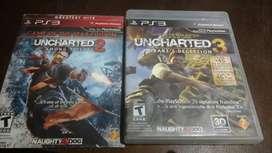 Uncharted 1 y 2 para PS3
