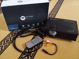 Mini proyector Led WIFI 1200 lúmenes