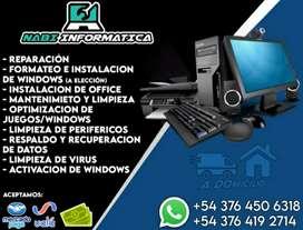SERVICIO TECNICO PC/NOTEBOOK