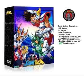 Caballeros Del Zodiaco Serie Anime Completa Saint Seiya