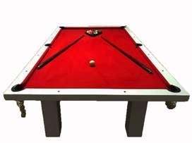 Mesa De Pool Profesional Premium 2,40x1,40mts + Accesorios
