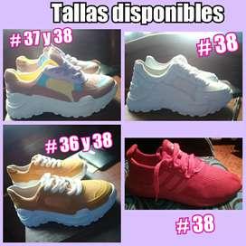 Vendo zapatillas para dama