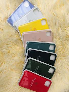 SILICON CASE IPHONE EN 7 COLORES DIFERENTES.