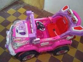 Carro de niña