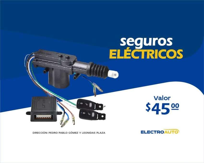 SEGUROS ELECTRICOS DE VEHICULO CON CONTROL 0