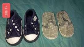 Lote de zapatos de bebe talla 17 a 21
