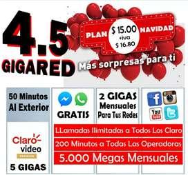 PLANES ILIMITADO DE CLARO  4G