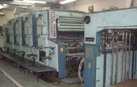 Impresora Planeta Super Variant de 4 colores Año 1988