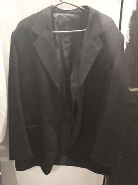 Saco de vestir color negro