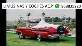 Carcochita y coche para bodas AQP