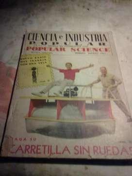 4 revistas mecanica popular 2 de 1961 1 del 60 y 1 del 53