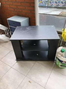Muble para tv madera color negro