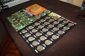 Colección de monedas completa Perú