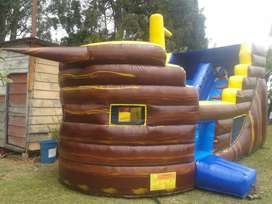 Inflable Alquiler (grande 7 Mts Largo)