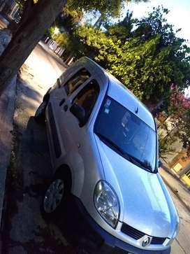 Vendo cangoo 2012 impecable con gas de 5 generacion
