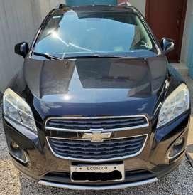 Chevrolet Tracker 2014 automático 103800km color negro