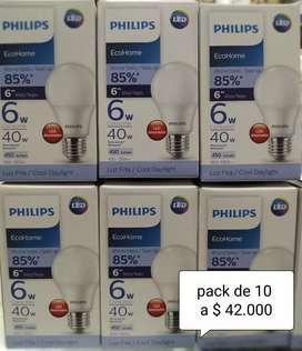 Bombillos LED Philips 6w