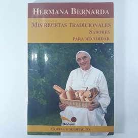 Hermana Bernarda, Libro de cocina mis recetas tradicionales, usado
