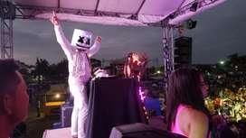 Fiestas Guayaquil con Marshmello