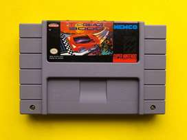 Juego cartucho Top Gear 3000 original Super Nintendo snes