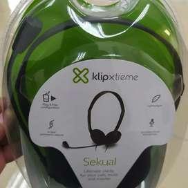 Auricular USB con micrófono y control de volúmen en línea
