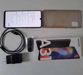 Vendo celular Samsung Galaxy A31, con tan solo dos meses de uso