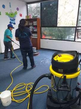 Servicio Integral en Limpieza, Lavado y Desinfección. Loja y Cantones.
