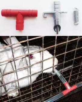 Bebedero para conejo automatico, niple
