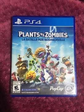 Plants vs zombies La Batalla por Neighborville PS4