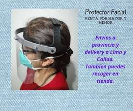 MAscara facial, protector