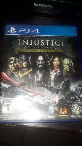 Vendo juego PlayStation 4 nuevo poco uso