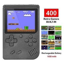 Juguete Infantil Consola Retro Portátil Tipo Game Boy 400 Juegos OFERT