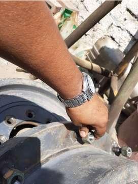 2 discos de rueda posterior para tractor