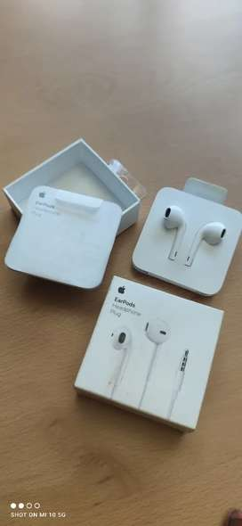 Auriculares Apple Earpods ORIGINALES MANOS LIBRES JACK 3.5mm MAS REGALO