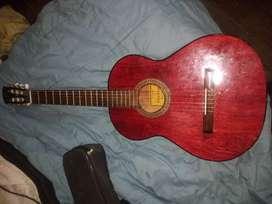 Guitarra+ funda acolchada