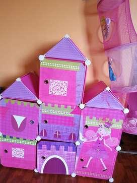 Vendo Organizador Castillo de Princesa