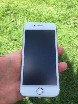 Iphone 6s 10/10 de 64Gb, bateria de litio al 100%