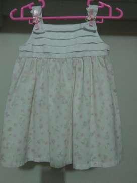 Vestido Young Land para Beba de 9 a 12 M