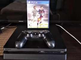 PS4 Slim 1TB con 1 mando y FIFA 16