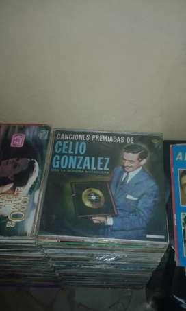 Discos colección acetato