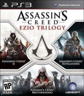 JUEGO ASSASSINS CREED TRILOGY (FISICO) PLAY 3