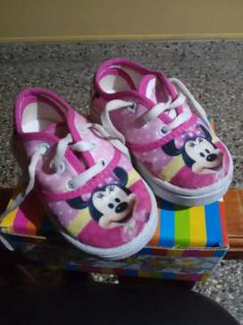 Zapatillas para Nena número 20