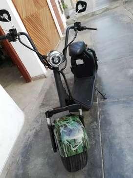 Scooter electrica Bravaza