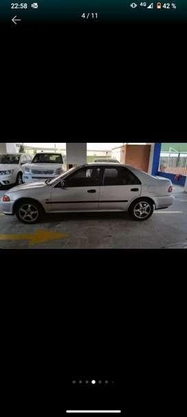 Vendo Honda Civic EX versión full - Caja mecánica