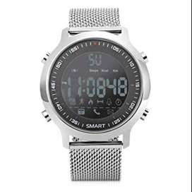 Sport Smartwatch Contra Agua/ Sumergible color plata