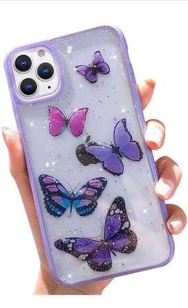 Case de Mariposas para iPhone 11 Max Pro