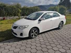 Automovil, Vehiculo Marca Toyota, modelo Corolla, tipo Sedan, año 2014