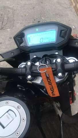 Vendo moto tiene cuatro meses de uso