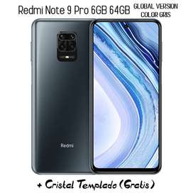 Xiaomi Redmi Note 9 Pro 6gb 64gb Global Version Color Gris