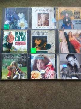 CD Originales-Usados-Lote x 9 CD!o por Unidad! Liquido! Impecables!